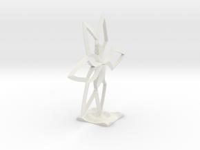 Model Of Freedom in White Premium Versatile Plastic