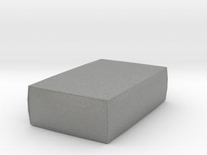 Miniature 1:24 Pouf  in Gray PA12: 1:24