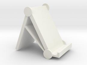phone stand in White Natural Versatile Plastic