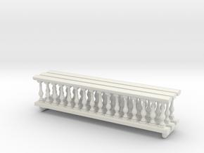 Baluster Ver 01 .1:48 Scale in White Natural Versatile Plastic