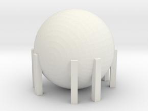 Natural Gas Tank 1/200 in White Natural Versatile Plastic