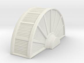 Industrial Turbine 1/87 in White Natural Versatile Plastic