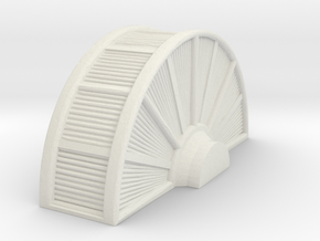 Industrial Turbine 1/72 in White Natural Versatile Plastic