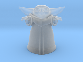 Baby Yoda (20mm) in Smooth Fine Detail Plastic