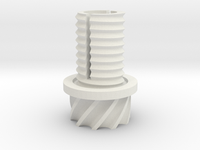 GearVtulka0 in White Natural Versatile Plastic