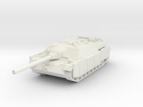 Jagdpanzer IV L70 (Schurzen) 1/87 in White Natural Versatile Plastic