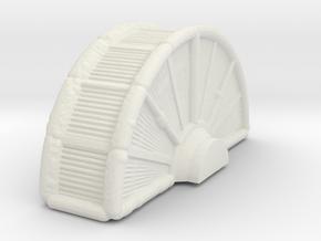 Industrial Turbine 1/285 in White Natural Versatile Plastic