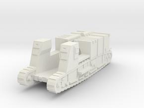 Gun Carrier Mk-1 (cargo) 1/76 in White Natural Versatile Plastic