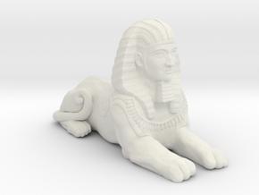 The Great Sphinx in White Natural Versatile Plastic