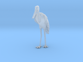Marabou Stork 1:35 Standing in Smoothest Fine Detail Plastic