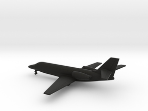 Cessna 680 Citation Sovereign in Black Natural Versatile Plastic: 6mm