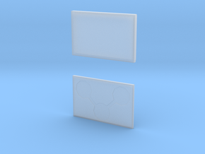 card case in Smooth Fine Detail Plastic