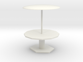 little table in White Natural Versatile Plastic: Small
