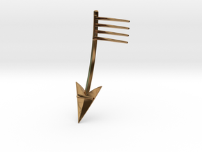 Broken Arrow: Part 1 of 2 in Polished Brass