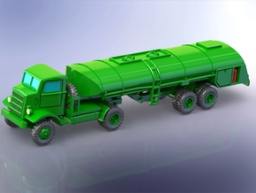 Autocar U-7144-T w. 4000 gal. Trailer 1/220 in Smooth Fine Detail Plastic