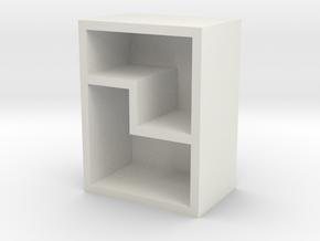 收納盒 in White Natural Versatile Plastic