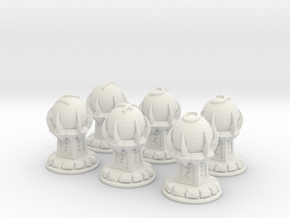 Magic Objectives Markers in White Natural Versatile Plastic