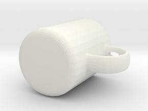 杯子 in White Natural Versatile Plastic