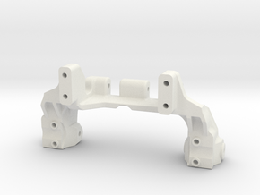 TRX4 V5 servo on axle 4-link in White Natural Versatile Plastic