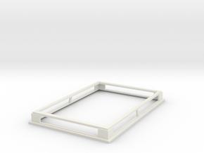 GasExchangePlateStackerV3 in White Natural Versatile Plastic