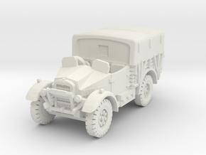 Morris CS8 (open) covered 1/87 in White Natural Versatile Plastic