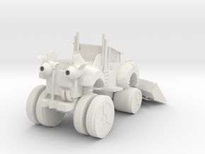 snowtruck in White Natural Versatile Plastic