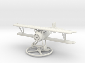 1/144 Siemens-Schuckert D.III in White Natural Versatile Plastic