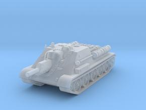 SU-122 Tank 1/285 in Smooth Fine Detail Plastic