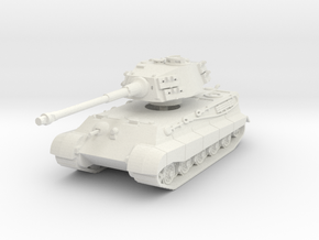 Tiger II H (skirts) 1/87 in White Natural Versatile Plastic