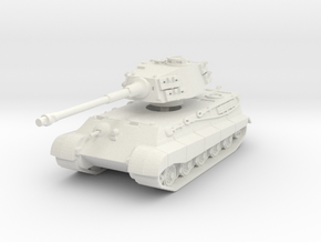 Tiger II H (skirts) 1/120 in White Natural Versatile Plastic