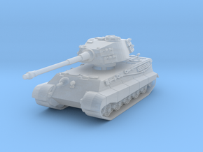 Tiger II H (skirts) 1/160 in Smooth Fine Detail Plastic