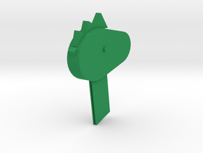 Little dragon bookmark in Green Processed Versatile Plastic