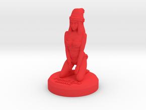 Xmas Princess Shaye Dressed in Red Processed Versatile Plastic