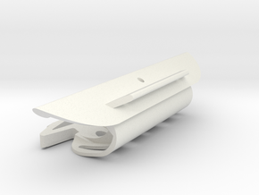 Cape Dory DM450 mast, slot 107mm, TD=19mm in White Natural Versatile Plastic
