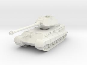 Tiger II P (Skirts) 1/72 in White Natural Versatile Plastic