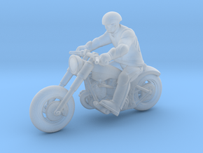 Harley Rider 1:87 HO in Smooth Fine Detail Plastic