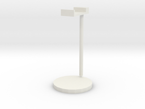 Headphone holder in White Natural Versatile Plastic
