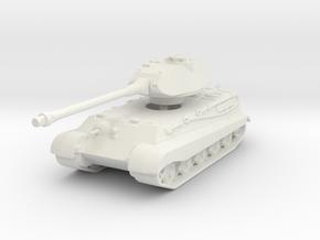 Tiger II P (Skirts) 1/144 in White Natural Versatile Plastic