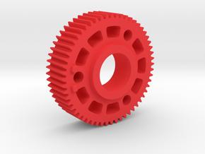 "Preston Standard 0.8 Module Gears. 1/2"" long in Red Processed Versatile Plastic"