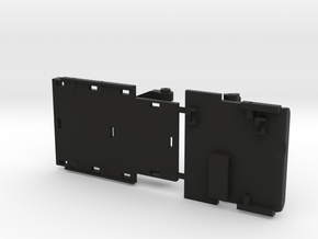 Chassis Parts for Micro Shark Conversion Deadbolt in Black Natural Versatile Plastic