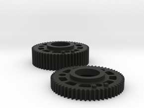 Preston Standard 0.8 Module Gears Set in Black Natural Versatile Plastic