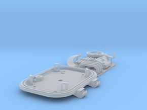 1:16 Tiger I loader's hatch (40mm roof) in Smooth Fine Detail Plastic
