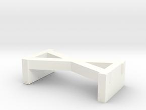 螢幕架 Screen rack in White Processed Versatile Plastic