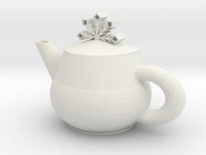 Tea set in White Premium Versatile Plastic