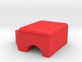 Parent-child sofa in Red Processed Versatile Plastic: Medium