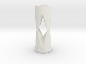 TIME in White Natural Versatile Plastic