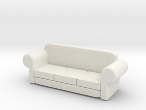 very cool sofa in White Natural Versatile Plastic: Large