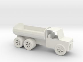 Tank truck styling pen holder in White Natural Versatile Plastic