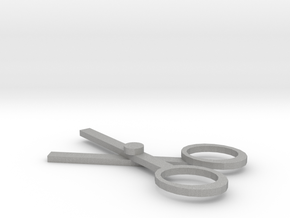 Left-handed scissors. in Aluminum