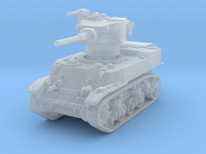 M5A1 Stuart 1/285 in Smooth Fine Detail Plastic